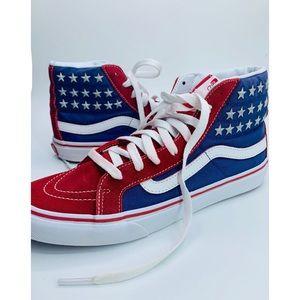{Vans}SK8 Hi Slim Star Studded Sneakers